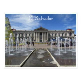 Carte Postale palais de ressortissant de San Salvador