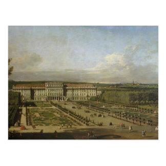 Carte Postale Palais de Schonbrunn et jardins, 1759-61