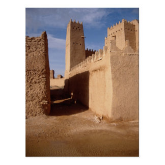 Carte Postale Palais de Thunyan, vieille ville, Najd, Arabie