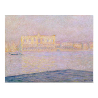 Carte Postale Palais ducal de Claude Monet | de San Giorgio,
