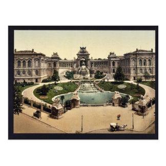 Carte Postale Palais Longchamps, classique Phot de Marseille,