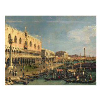 Carte Postale Palazzo Ducale et le degli Schiavoni, Venic de