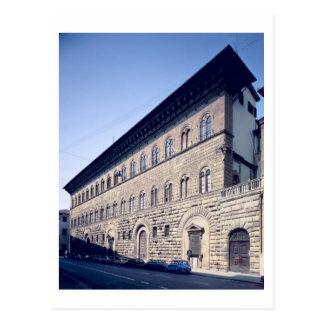 Carte Postale Palazzo Medici-Riccardi, commencé 1444 (photo)
