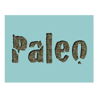 Carte Postale Paleo dans la pierre