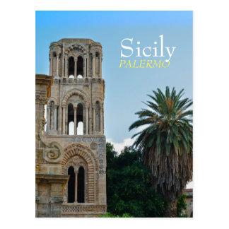 Carte Postale Palerme, Sicile