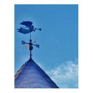 Carte Postale PALETTE de TEMPS de SOUFFLEMENT de KLAXON d'ange