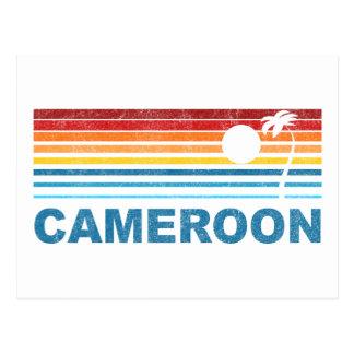 Carte Postale Palmier Cameroun
