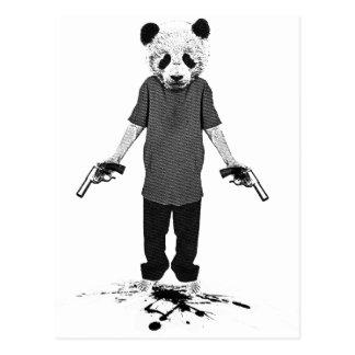 Carte Postale Panda de tueur