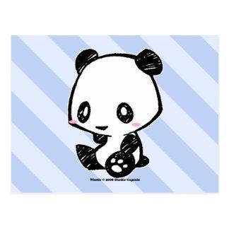 Carte Postale Panda de Weetle