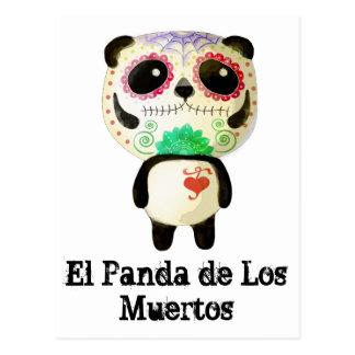 Carte Postale Panda du jour des morts