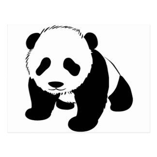 Carte Postale Panda mignon de bébé