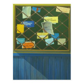 Carte Postale Panneau d'affichage du conservatoire de Blackheath