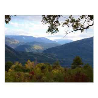Carte Postale Panorama de la Calabre
