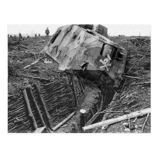 Carte Postale Panzer détruit