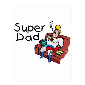 Carte Postale Papa superbe (sommeil)