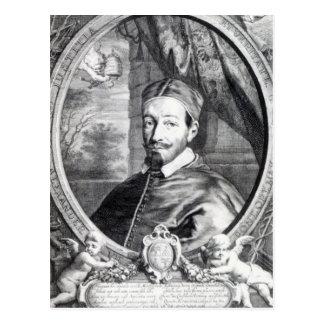 Carte Postale Pape Alexandre VII