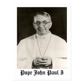 Carte Postale Pape John Paul I