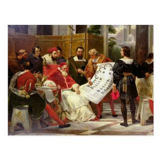Carte Postale Pape Jules II Bramante de commande