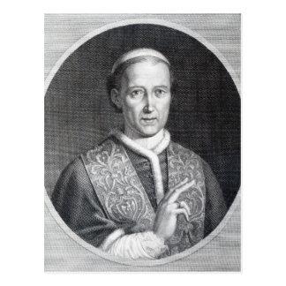 Carte Postale Pape Lion XII, gravé par Raffaele Persichini