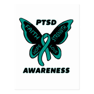 Carte Postale Papillon/conscience… PTSD