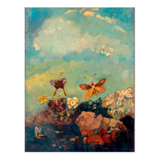 Carte Postale Papillons | Odilon Redon