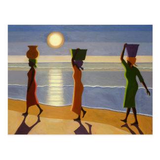 Carte Postale Par la plage 2007