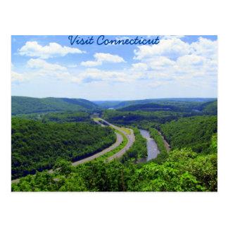 Carte Postale Par la vallée du Connecticut