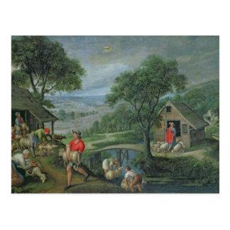 Carte Postale Parabole du bon berger, c.1580-90