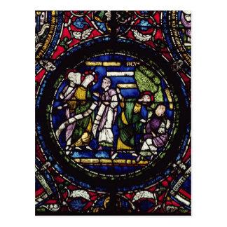 Carte Postale Parabole du figuier, 12ème siècle