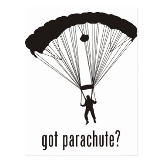 Carte Postale Parachute
