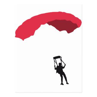 Carte Postale parachute 3c