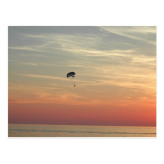 Carte Postale Parachutisme
