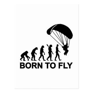 Carte Postale Parachutisme d'évolution soutenu pour voler