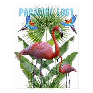 Carte Postale Paradise lost