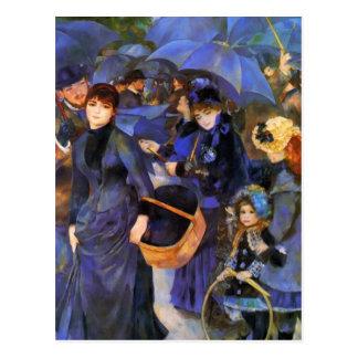Carte Postale Parapluies de Pierre-Auguste Renoir-