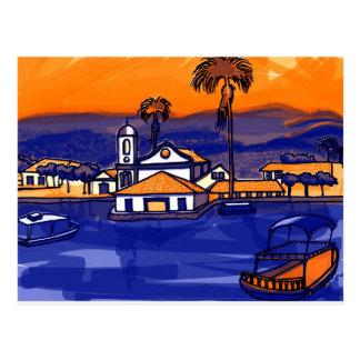 Carte Postale Paraty - Rio de Janeiro - Brésil