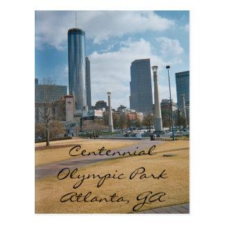 Carte Postale Parc centennal et Atlanta du centre