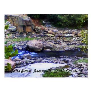 Carte Postale Parc de chutes