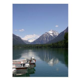 Carte Postale Parc de glacier de McDonald de lac