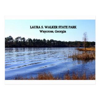 Carte Postale PARC de LAURA S. WALKER STATE - Waycross, la