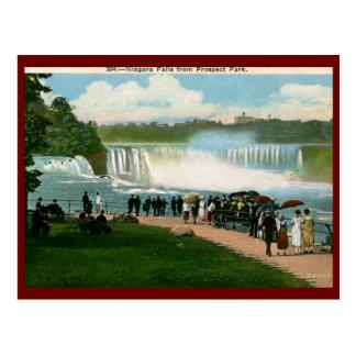 Carte Postale Parc de perspective, cru de chutes du Niagara
