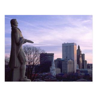Carte Postale Parc de terrasse de perspective chez Providence,