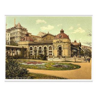 Carte Postale Parc de ville, classe de Carlsbad, Bohême,