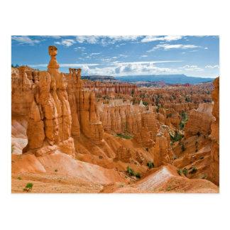 Carte Postale Parc national de canyon de Bryce de formation du