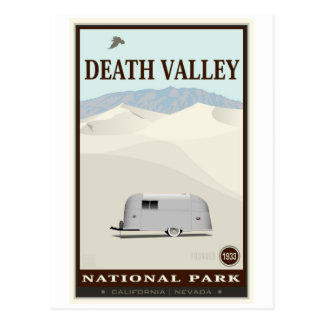Carte Postale Parc national de Death Valley