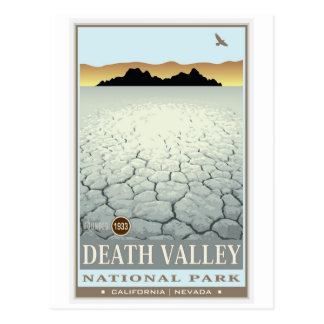 Carte Postale Parc national de Death Valley 3