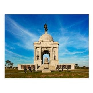 Carte Postale Parc national de Gettysburg - mémorial de la