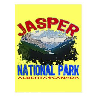 Carte Postale Parc national de jaspe, Alberta Canada