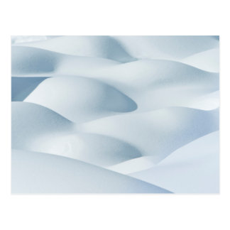 Carte Postale Parc national de jaspe, monticules de neige