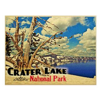 Carte Postale Parc national de lac crater